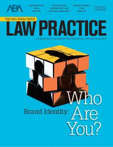 ABA Law Practice Magazine