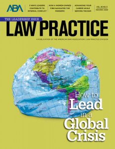 Law Practice Magazine Cover